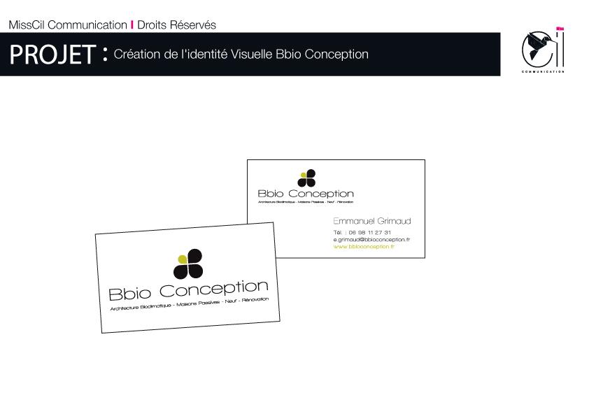 nouvelle identit pour bbio conception misscil communication. Black Bedroom Furniture Sets. Home Design Ideas